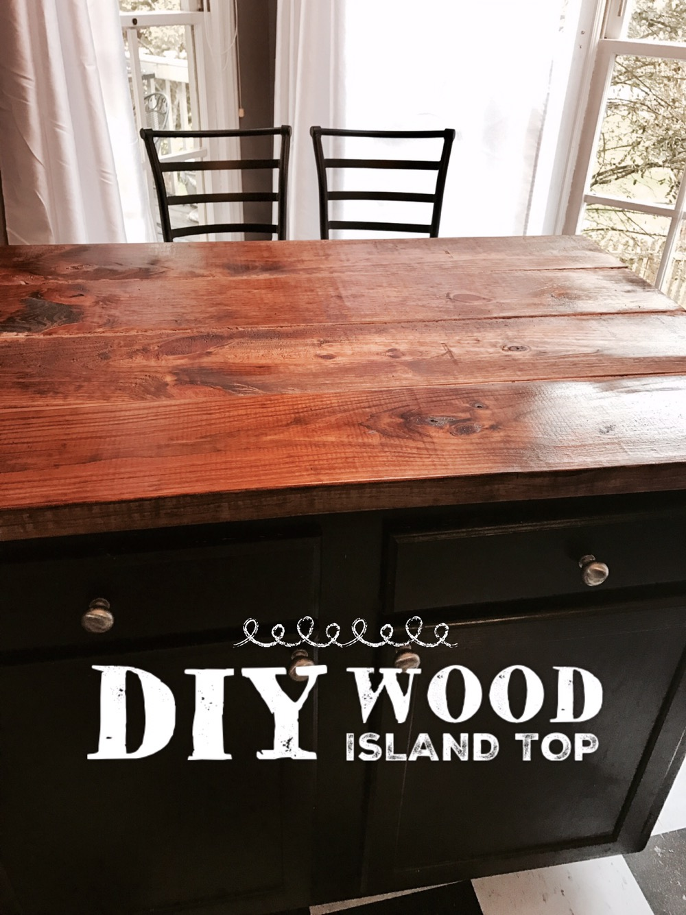 Diy Wood Kitchen Island Top Making A Maven